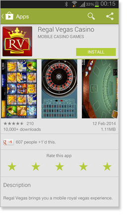 Regal Vegas Casino App Google Play