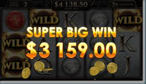 Game of Thrones online pokie - huge winnings